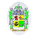 MacDonald (Slate) Ornament (Oval)