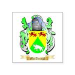 MacDonagh Square Sticker 3