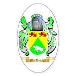 MacDonagh Sticker (Oval 50 pk)