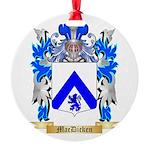 MacDicken Round Ornament