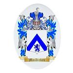 MacDicken Ornament (Oval)