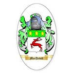 MacDevitt Sticker (Oval 50 pk)