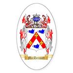 MacDermott Sticker (Oval 10 pk)