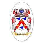 MacDermott Sticker (Oval 50 pk)