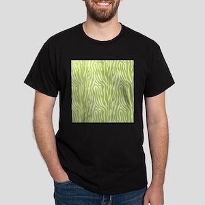 Lime green animal print (basic) T-Shirt