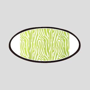 Lime green animal print (basic) Patch
