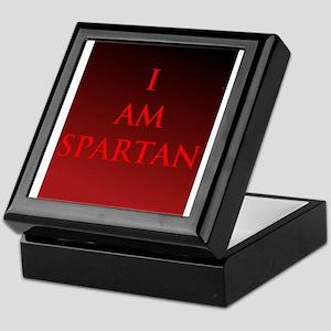 SPARTAN Keepsake Box
