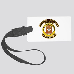 121st Signal Battalion (Division Large Luggage Tag