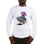 Monster Mad Man Racer Long Sleeve T-Shirt