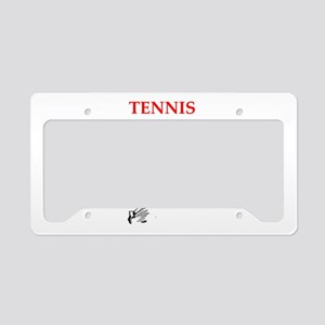 tennis License Plate Holder