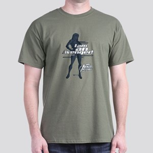 The Avengers Black Widow: I am an Ave Dark T-Shirt