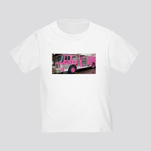 Pink Fire Truck (real) T-Shirt