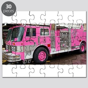 Pink Fire Truck (real) Puzzle