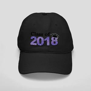 Class of 2018 Glitter Baseball Hat