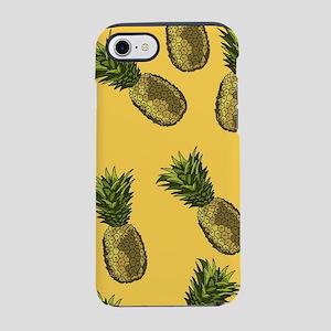 Pineapple Pattern iPhone 7 Tough Case