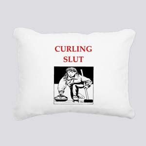 curking Rectangular Canvas Pillow
