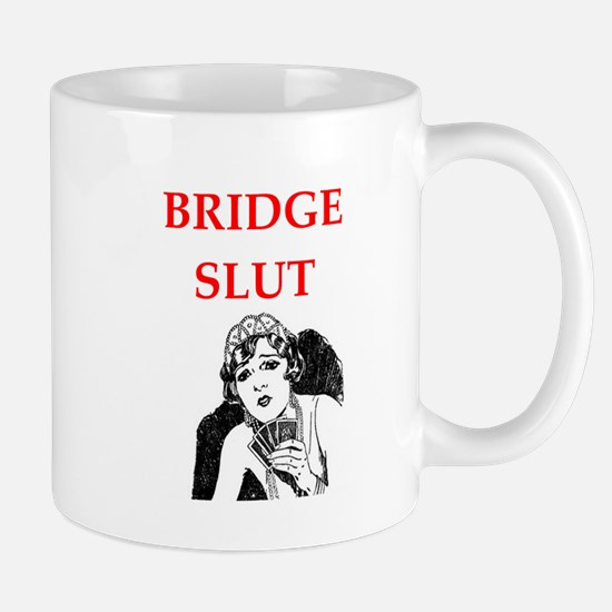 duplicate bridge Mugs