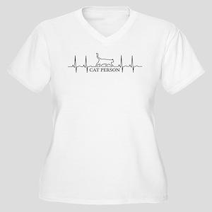 Cat Is Life Plus Size T-Shirt