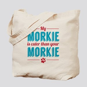 Cuter Morkie Tote Bag