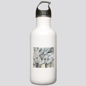 Family Stainless Water Bottle 1.0L
