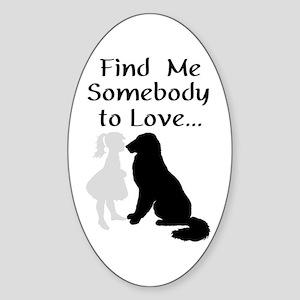 Mandollyn's Dogs Sticker (Oval)