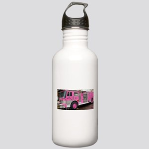 Pink Fire Truck (real) Stainless Water Bottle 1.0L