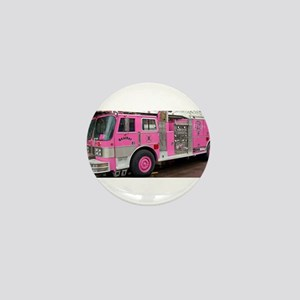 Pink Fire Truck (real) Mini Button