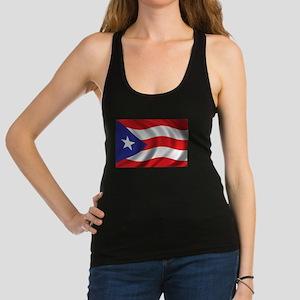 Puerto Rico Flag (bright) Racerback Tank Top