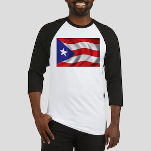 Puerto Rico Flag (bright) Baseball Jersey