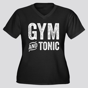 Gym and Tonic Plus Size T-Shirt