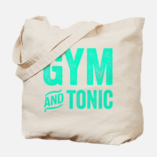 Gym and Tonic Tote Bag
