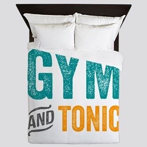 Gym and Tonic Queen Duvet