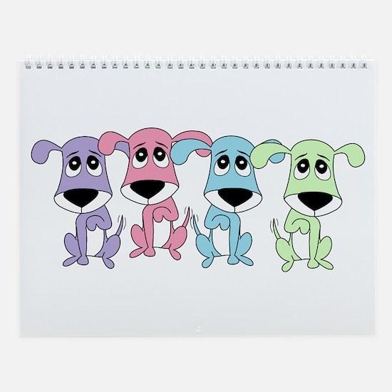 Mandollyn's Dogs Wall Calendar