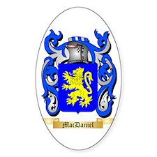 MacDaniel Sticker (Oval)