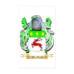 MacDaid Sticker (Rectangle 50 pk)