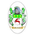 MacDaid Sticker (Oval 50 pk)
