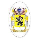 MacCusker Sticker (Oval 50 pk)