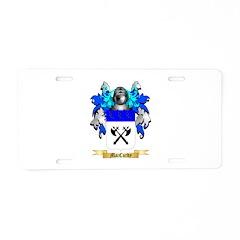 MacCurdy Aluminum License Plate