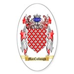 MacCullough Sticker (Oval 50 pk)