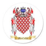 MacCullie Round Car Magnet