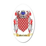 MacCullie 35x21 Oval Wall Decal