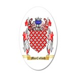 MacCullach 20x12 Oval Wall Decal