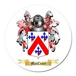 MacCrory Round Car Magnet