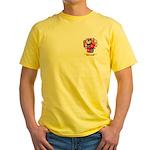 MacCrimmon Scotland Yellow T-Shirt