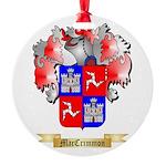 MacCrimmon Scotland Round Ornament