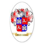 MacCrimmon Scotland Sticker (Oval 10 pk)