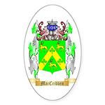 MacCribben Sticker (Oval 50 pk)
