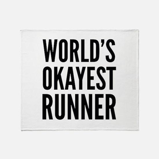 World's Okayest Runner Stadium Blanket