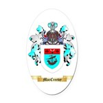 MacCreevy Oval Car Magnet