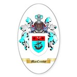 MacCreevy Sticker (Oval)